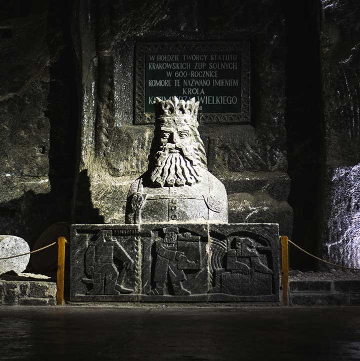 The salt mines, Poland