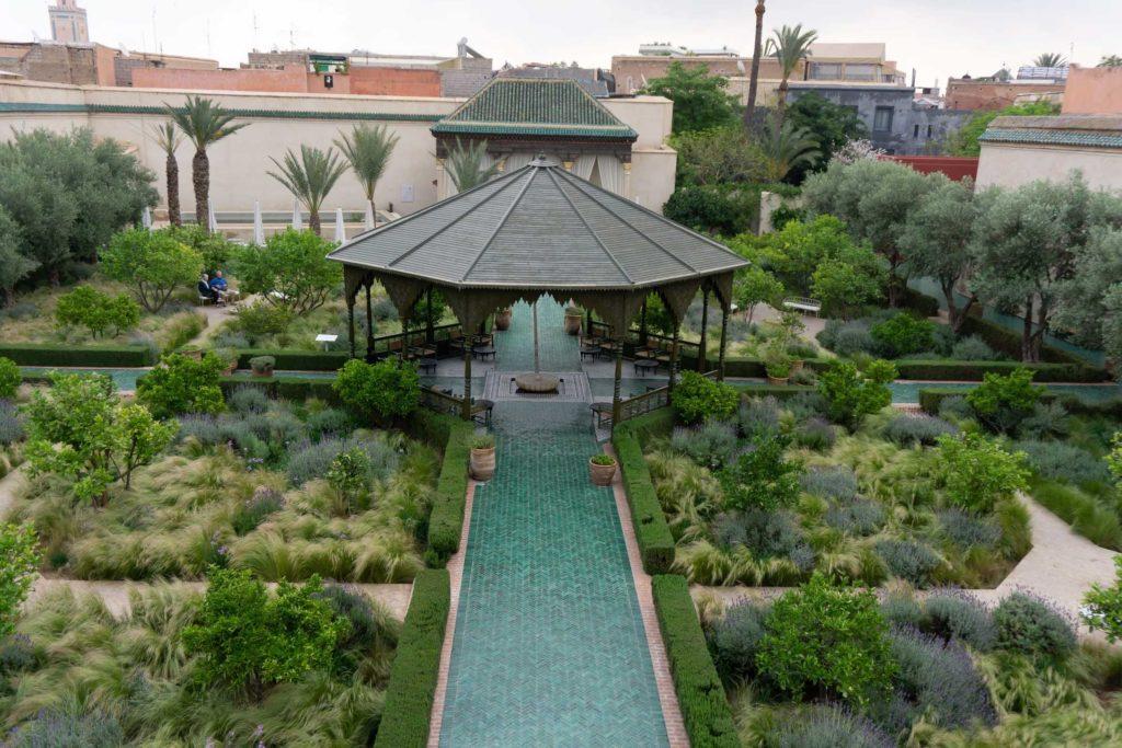Jardin Secret in Marrakech, Morocco