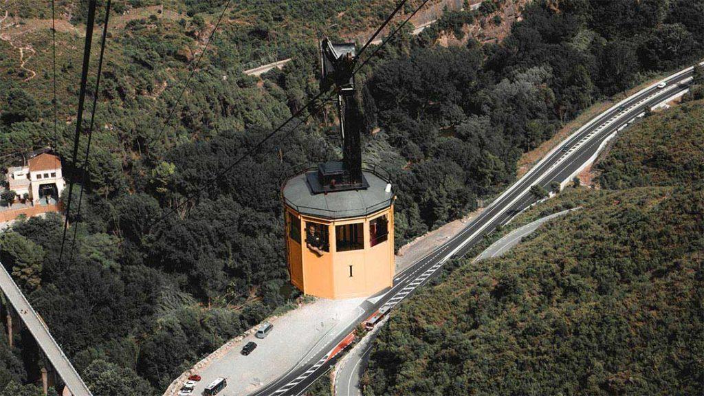 Monseratt near Barcelona, Spain