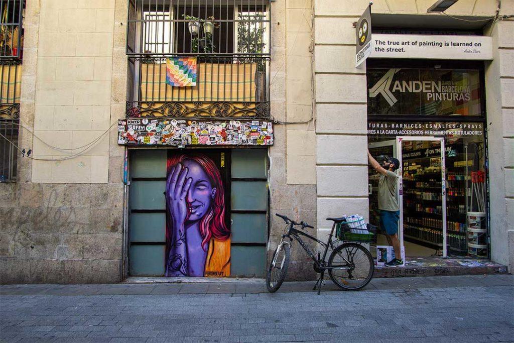 Barcelona Street art, Spain