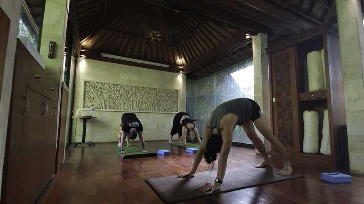 Yoga in Ubud, Bali