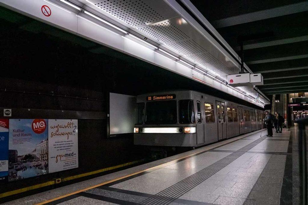 Subway in Barcelona, Spain