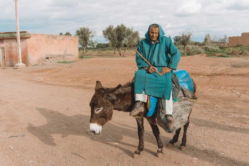 Traditional Berber in Morocco