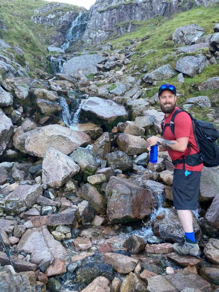 Climbing Ben Nevis, Scotland