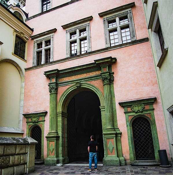 Wawal Castle in Krakow, Poland