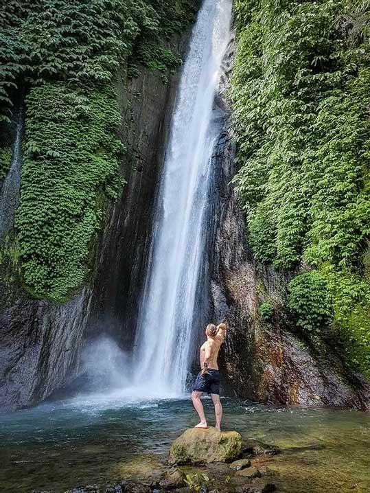 Munduk waterfall, Munduk, Bali