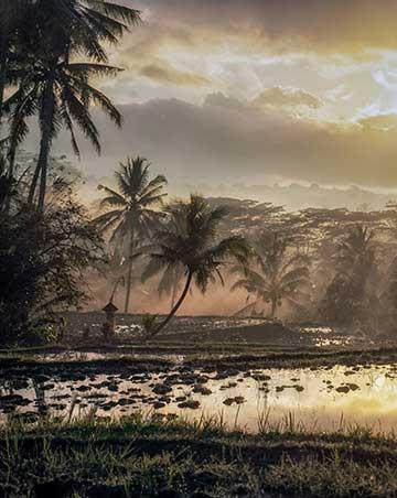 Sunrise in Tampaksilling - Bali