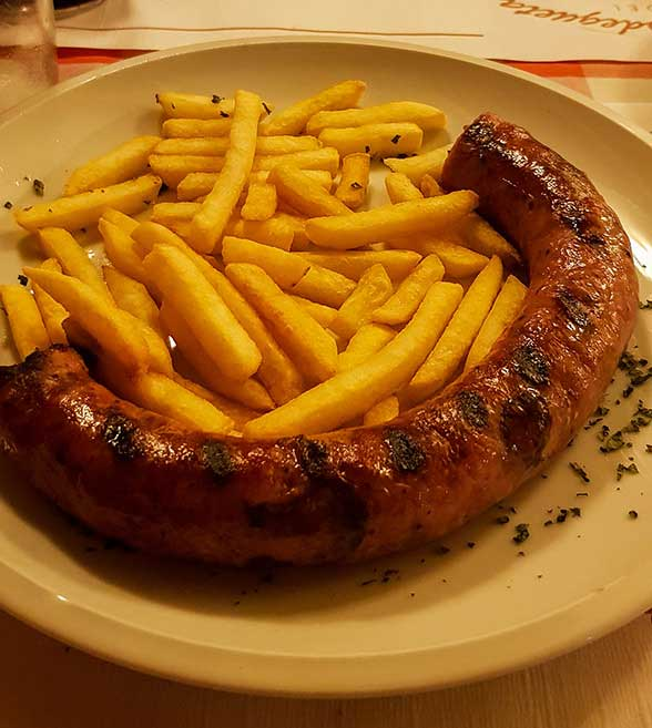 Botifarra (pronounced butiˈfarə) is a type of sausage and one of the most important dishes of the Catalan cuisine