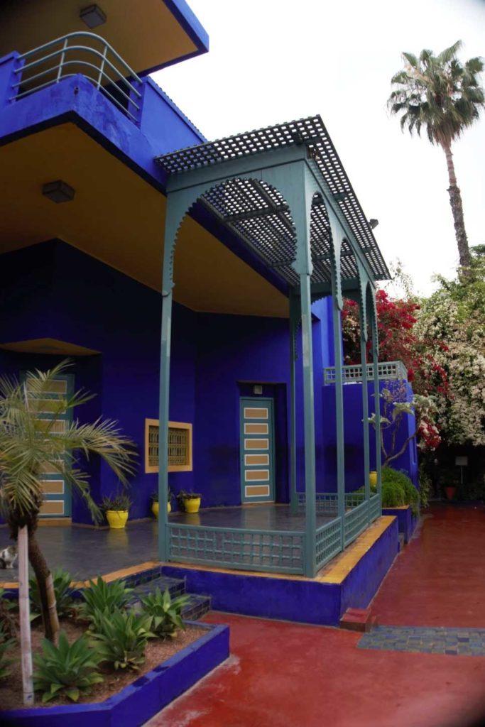 Jardin Marjorelle in Marrakech, Morocco