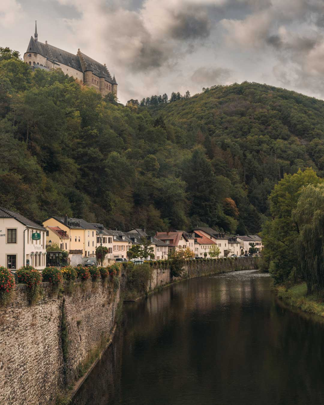 """The """"Our River"""" in Vianden - Luxembourg"""