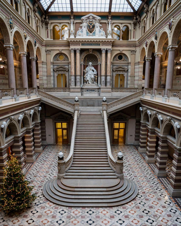 The Supreme Court of Justice in Vienna - Austria