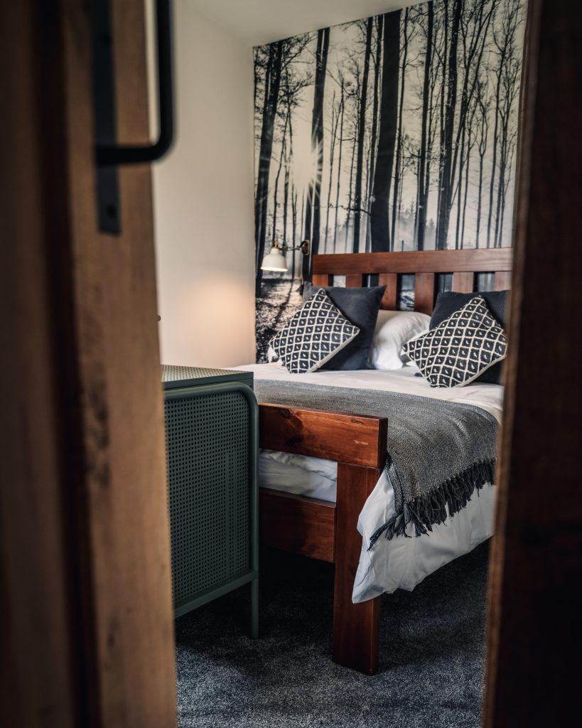 Ty Coed, Coed Cabins, Bedroom - North Wales