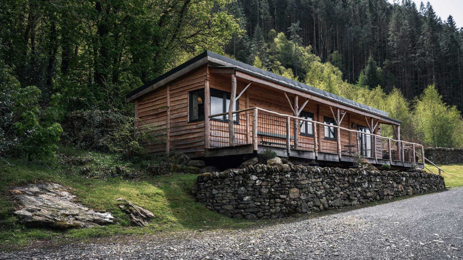 Ty Coed, Coed Cabins- - North Wales