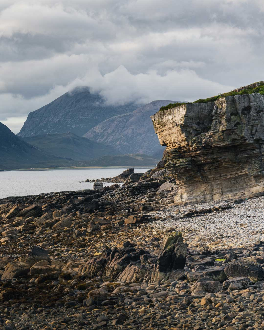 Elgol, a small fishing village in the south of the Isle of Skye, Scotland