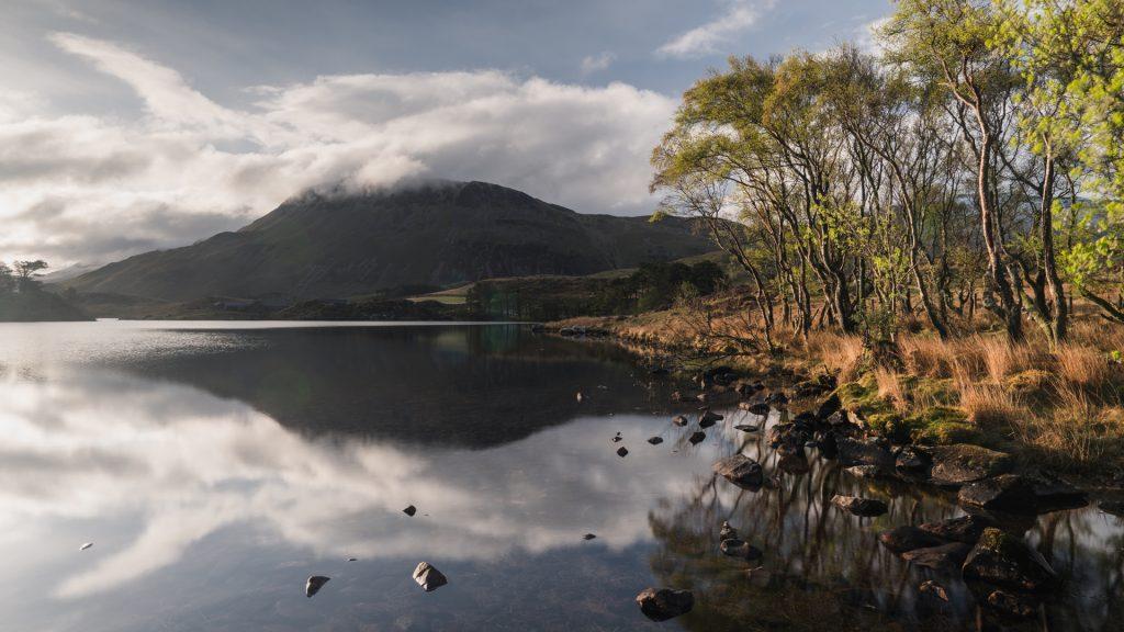 Cregennan Lakes in Snowdonia National park